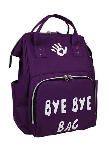 Bye Bye Paris Bag Anne Bebek Bakım Sırt Çantası Mor
